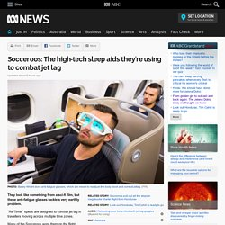 Socceroos: The high-tech sleep aids they're using to combat jet lag