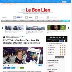 #Sochiselfie : Aux JO aussi les athlètes font des selfies
