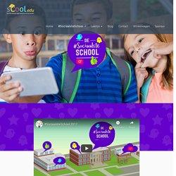 #SociaalsteSchool - sCooledu