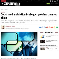 Social media addiction is a bigger problem than you think
