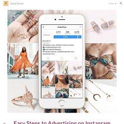 Social Sensei - Easy Steps to Advertising on Instagram