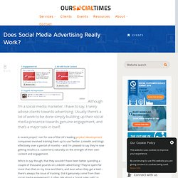 Does Social Media Advertising Really Work?
