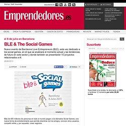 BLE & The Social Games - Agenda Emprendedores