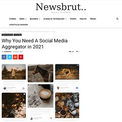 Why You Need A Social Media Aggregator in 2021 - Newsbrut