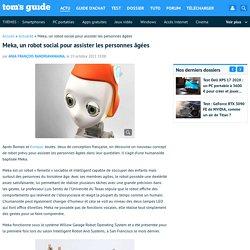 Meka, un robot social pour assister les personnes âgées