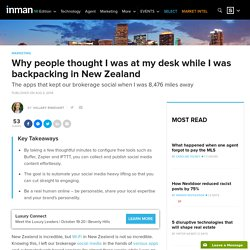 6 Apps That Kept Up My Social Media While I Backpacked New Zealand