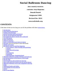 Social Ballroom Dancing