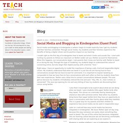 Social Media and Blogging in Kindergarten