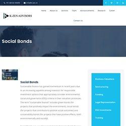 Social Bonds - K-ZEN Advisors