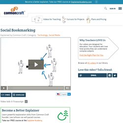 Social Bookmarking Explained by Common Craft