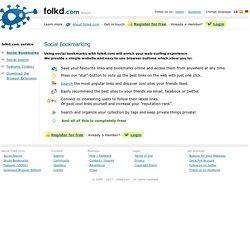 Social Bookmarking - folkd.com