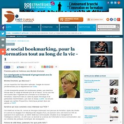 Le social bookmarking, pratique incontournable de formation tout au long de la vie - 1 : Articles : Thot Cursus