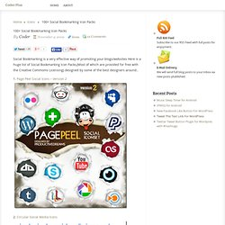 100+ Social Bookmarking Icon Packs ~ Coder Plus