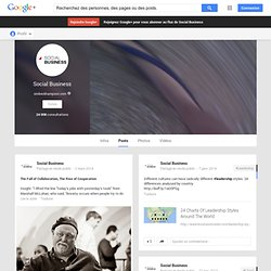 Social Business - Google+