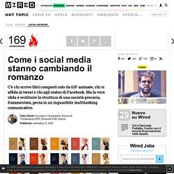 Come i social media stanno cambiando il romanzo