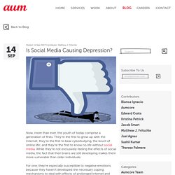 Is Social Media Causing Depression?