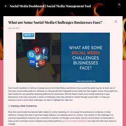 What are Some Social Media Challenges Businesses Face?
