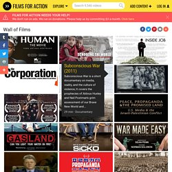 Over 400 Social Change Documentaries on 1 Page