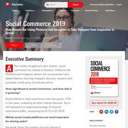 Social Commerce 2019