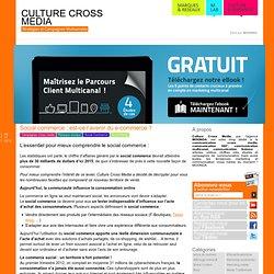 Culturecrossmedia est votre blog dédié au cross média : articles, vidéos, chiffres clés au sujet des campagne de communication cross media mais également toutes les nouvelles tendan