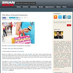 The Rise of Social Commerce Brian Solis