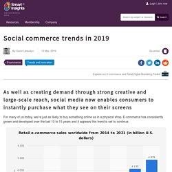Key social commerce trends in 2019