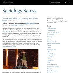 Social Construction Of The Body: The Nipple - Sociology Source