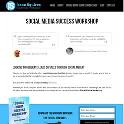 Social Media Courses Around The UK On A Monthly Basis