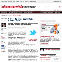 8 Ways To Avoid Social Media Culture Clash - The BrainYard - InformationWeek