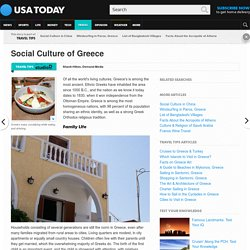 Social Culture of Greece
