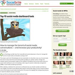Top 10 social media dashboard tools