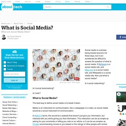 What Is Social Media? - Definition and Examples