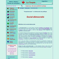 Social-démocratie