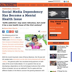 Social Media Dependency Has Become a Mental Health Issue