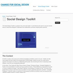 Change for Social Design