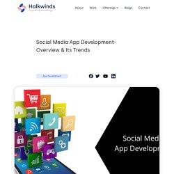 Social Media App Development - Halkwinds
