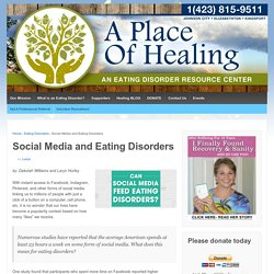 Social Media and Eating Disorders