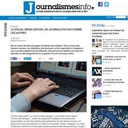 Le social media editor, un journaliste pas comme les autres