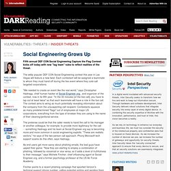 Social Engineering Grows Up
