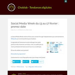ChloLab pour la Social Media Week