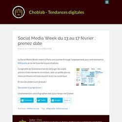 ChloLab pour la Social Media Week