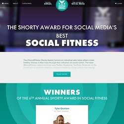 Best Social Fitness in Social Media - The Shorty Awards
