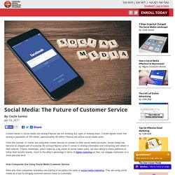 Social Media: The Future of Customer Service