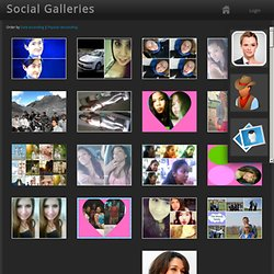Galerías Sociales