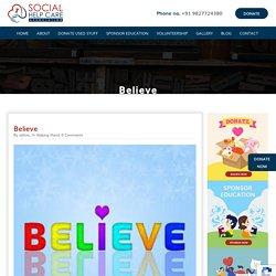 Social Help Care Believe - Social Help Care