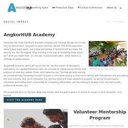 Social Impact - AngkorHUB