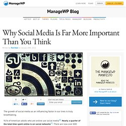 Why Social Media Is Far More Important Than You Think