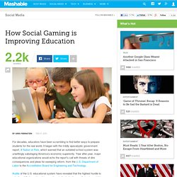 How Social Gaming is Improving Education