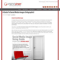 A Guide To Social Media Images (Infographic)