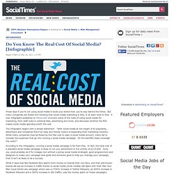Do You Know The Real Cost Of Social Media?